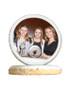 Bat Mitzvah Photo Sugar Iced Butter Cookie - Circle