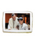 Bar Mitzvah Photo Sugar Iced Butter Cookie - Rectangle