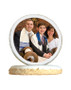 Bar Mitzvah Photo Sugar Iced Butter Cookie - Circle
