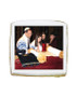 Bat Mitzvah Photo Sugar Iced Butter Cookie - Square