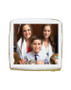 Bar Mitzvah Photo Sugar Iced Butter Cookie - Square