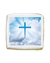 Confirmation Photo Sugar Iced Butter Cookie - Square