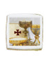 Communion Photo Sugar Iced Butter Cookie - Square