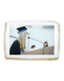 Graduation Photo Sugar Iced Butter Cookie - Rectangle