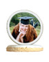 Graduation Photo Sugar Iced Butter Cookie - Circle