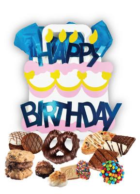 Happy Birthday Themed Box Tote