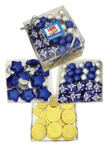 Hanukkah Chocolate Candy Trio