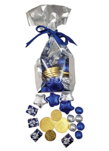 Hanukkah Chocolate Candy Bag