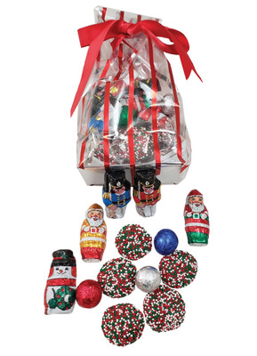Christmas Chocolate Candy Bag