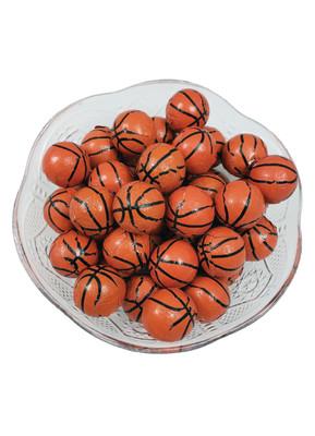 Solid Milk Chocolate Basketballs