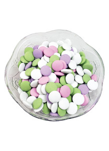 Chocolate Lentil Shaped Mints - Pastels