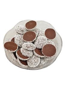 Milk Chocolate Nonpareils - White