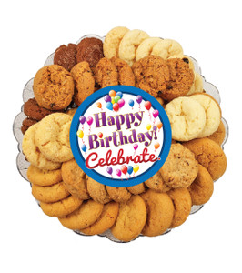 Happy Birthday All Natural Smackers Mini Crispy Cookies