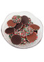 Christmas Chocolate Nonpareils - Red, Green & White