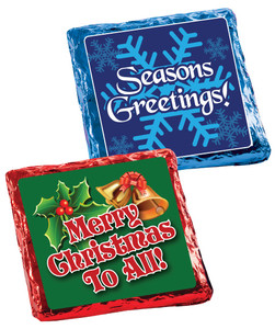 Christmas/Holiday Cookie Talk Chocolate Grahams