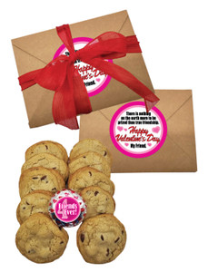 Valentine's Day Chocolate Chip Cookie Box - Friends
