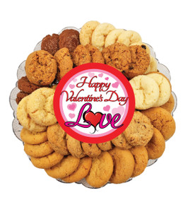 Valentine's Day All Natural Crispy Smackers Cookie Platter