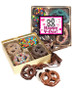 Valentine's Day Chocolate Covered 16pc Pretzel Gift Box - Humor