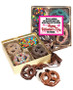 Valentine's Day Chocolate Covered 16pc Pretzel Gift Box - Friends