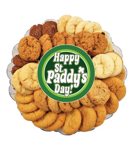 St Patrick's Day All Natural Smackers Cookie Platter