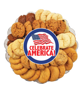 Celebrate America All Natural Smackers Cookie Platter