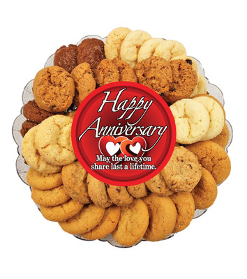 Anniversary All Natural Smackers Cookie Platter