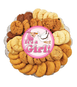 Baby Girl All Natural Smackers Cookie Platter