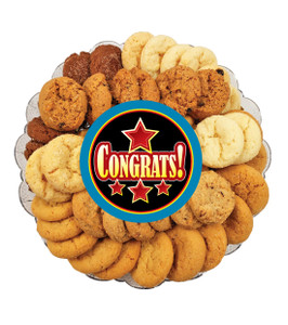 Congratulations All Natural Smackers Cookie Platter