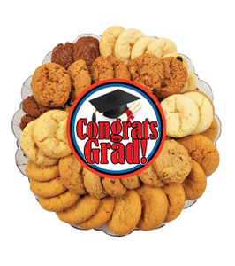 Graduation All Natural Smackers Cookie Platter