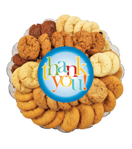 Thank You All Natural Smackers Cookie Platter