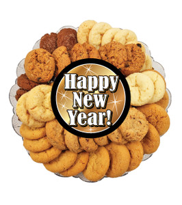 Happy New Year All Natural Smackers Cookie Platter