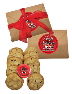Anniversary 1lb Chocolate Chip Cookie Box