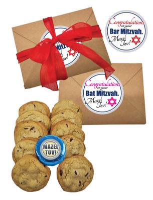 Bar/Bat Mitzvah Fresh Baked Chocolate Chip Cookie Craft Box