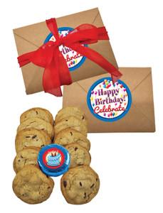 Happy Birthday 1lb Chocolate Chip Cookie Box