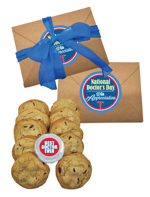 Doctor Appreciation Chocolate Chip Cookie Craft Box