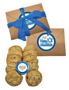 Hanukkah Chocolate Chip Cookie Craft Box