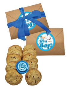 Baby Boy Chocolate Chip Cookie Craft Box