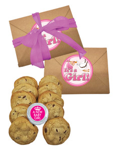 Baby Girl Chocolate Chip Cookie Craft Box