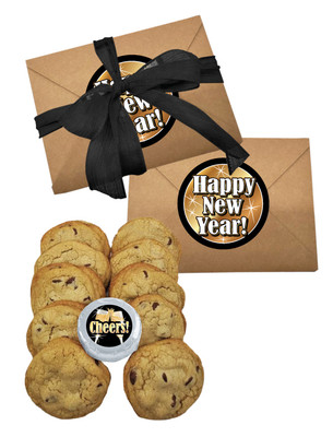 Happy New Year Chocolate Chip Cookie Craft Box