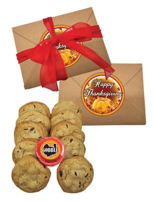 Thanksgiving Chocolate Chip Cookie Craft Box