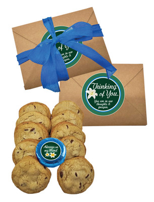 Thinking of You Chocolate Chip Cookie Craft Box