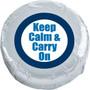 Keep Calm Chocolate Oreo Single