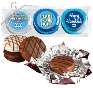 Hanukkah Chocolate Oreo Trio
