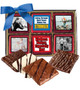 Connecting Friends 12pc Chocolate Graham Custom Photo Box