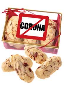 No Corona Almond Log Sampler