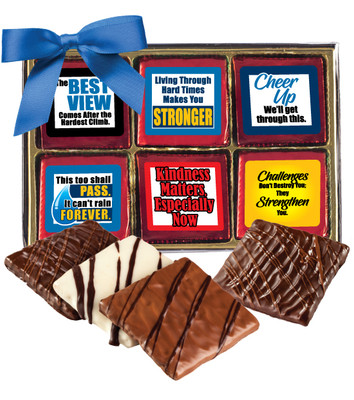 Connecting Friends Chocolate Graham 12pc Box