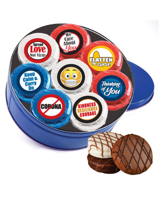 Connecting Friends 16pc Chocolate Oreo Tin