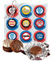 Connecting Friends Cookie Talk 9pc Chocolate Oreo