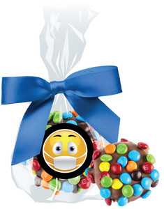 Connecting Friends Chocolate Oreo with Mini M&M Bag
