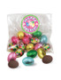 Mini Solid Foiled Milk Chocolate Easter Egg Bag
